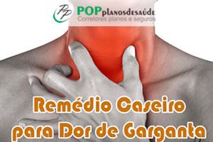 Cinco Remédios Caseiros para Dor de Garganta